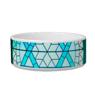 Jewish Star of David Bowl Cat Water Bowl