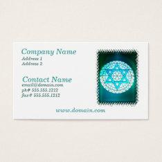 Jewish Star Of David Business Card at Zazzle
