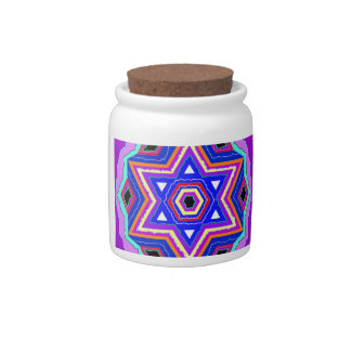 Jewish Star of David Candy Dish