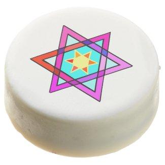 Jewish Star Of David Chocolate Covered Oreo