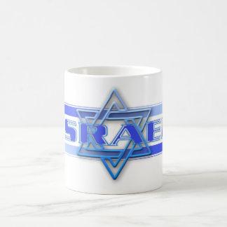 Jewish Star Of David Israel Blue and White Classic White Coffee Mug