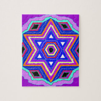 Jewish Star of David Jigsaw Puzzle