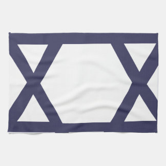 Jewish Star of David Hand Towels