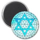 Jewish Star of David Magnet Refrigerator Magnets