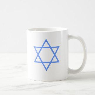 JEWISH STAR OF DAVID CLASSIC WHITE COFFEE MUG