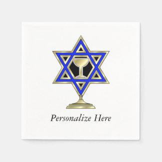 Jewish Star Of David Napkin