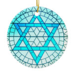 Jewish Star of David Ornament
