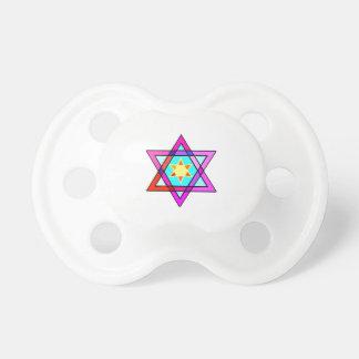 Jewish Star Of David Baby Pacifiers