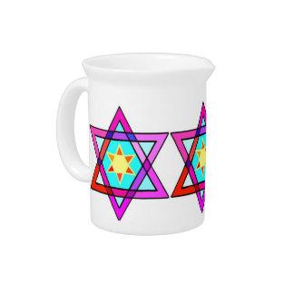 Jewish Star Of David Pitchers
