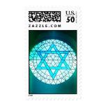 Jewish Star of David Postage Stamp
