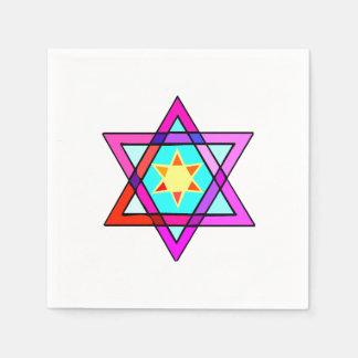 Jewish Star Of David Standard Cocktail Napkin