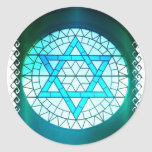 Jewish Star of David Stickers