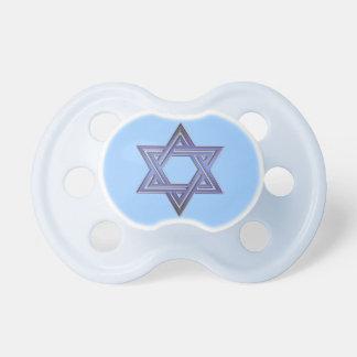 Jewish Star of David Symbol Pacifiers