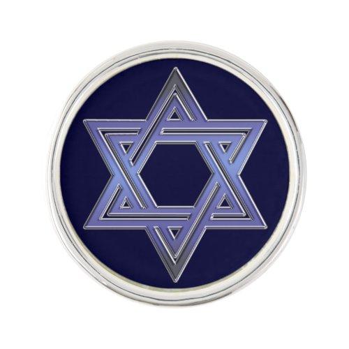 Jewish Star of David Symbol Pin