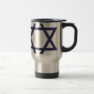 Jewish Star of David Symbol Travel Mug