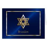 Jewish Star of David Thank You Card