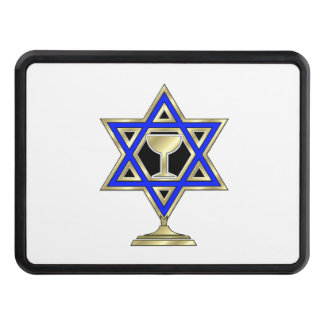 Jewish Star Of David Trailer Hitch Covers