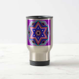 Jewish Star of David Travel Mug