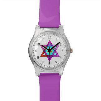 Jewish Star Of David Wrist Watch