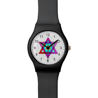 Jewish Star Of David Wristwatch