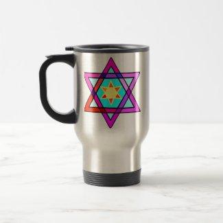 Jewish Star of Life mug
