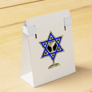 Jewish Star Party Favor Box