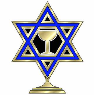 Jewish Star Photo Statuette