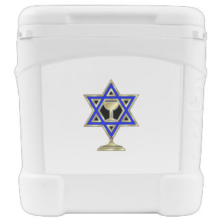 Jewish Star Rolling Cooler