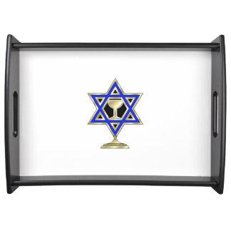 Jewish Star Serving Tray