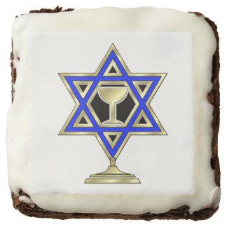 Jewish Star Square Brownie