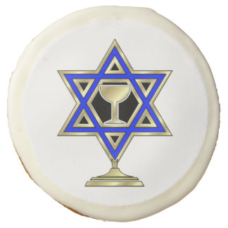 Jewish Star Sugar Cookie