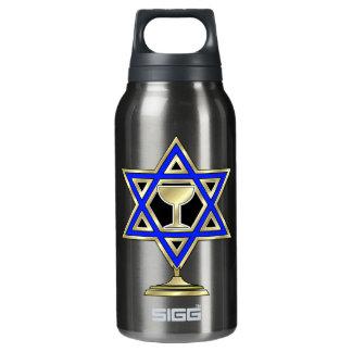 Jewish Star Thermos Water Bottle