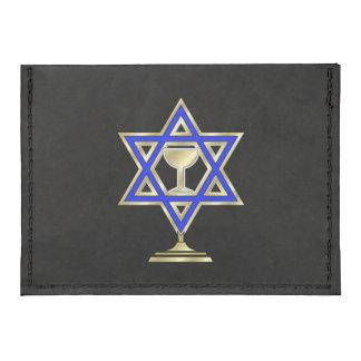 Jewish Star Tyvek® Card Case Wallet