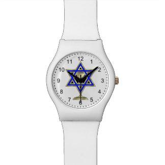 Jewish Star Wrist Watches