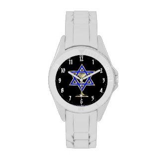 Jewish Star Wristwatch
