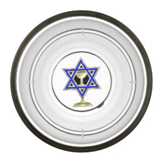 Jewish Star Pet Bowl