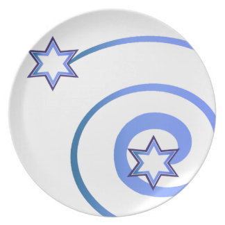 Jewish Stars and a Spiral Dinner Plate