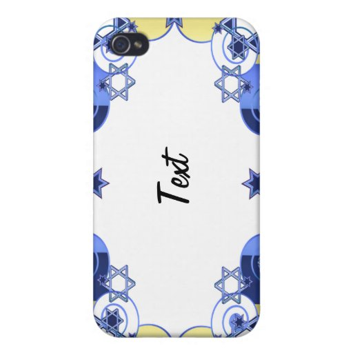 Jewish Stars With Stripes iPhone 4 Cover