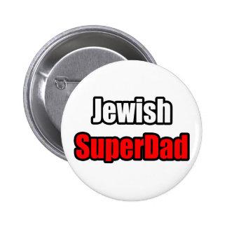 Jewish SuperDad Pinback Button