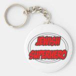 Jewish Superhero Keychain