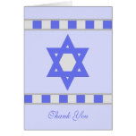 Jewish Sympathy Thank you Note Card