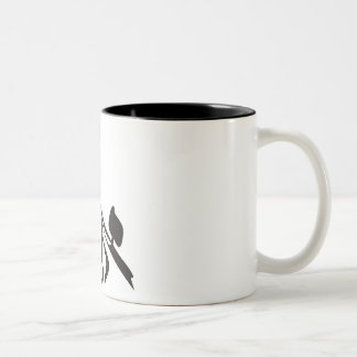 Jewish Tango Two-Tone Coffee Mug