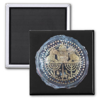 Jewish Themed Roman Goblet - 2nd Century 2 Inch Square Magnet