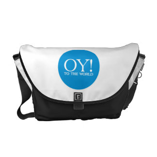 Jewish Tote - OY TO THE WORLD! Courier Bag