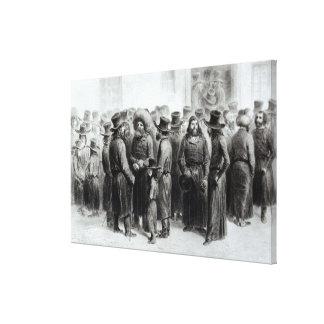 Jewish Traders and Merchants Canvas Print