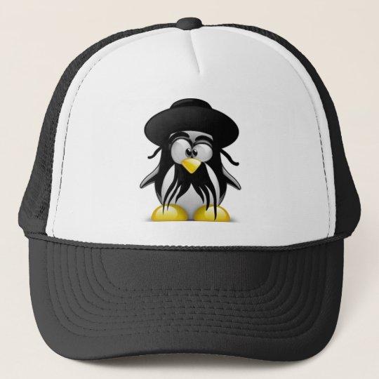 Jewish Tux (Linux Tux) Trucker Hat