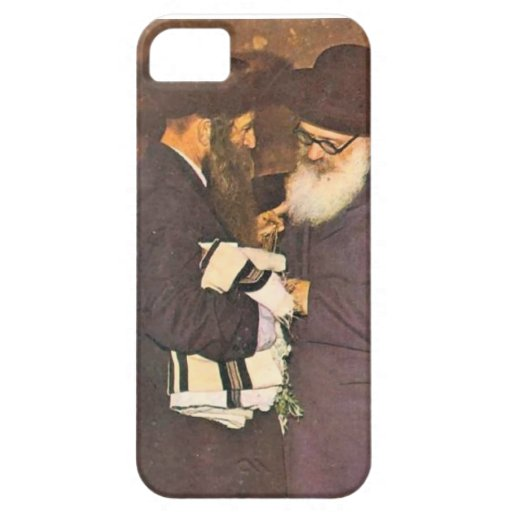 Jewish vintage image iPhone 5 cover