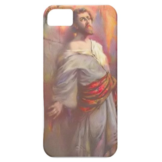 Jewish vintage image iPhone SE/5/5s case