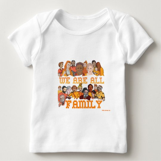 JEWISH WE ARE ALL FAMILY BABY T-Shirt