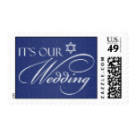 Jewish Wedding Invitation Medium Stamps